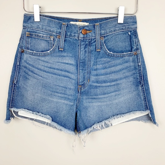 52e22c9995 Madewell Shorts | Perfect Jean Short Step Hem Edition 24 | Poshmark